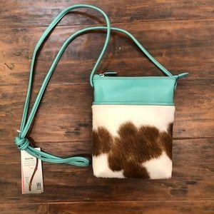 Handbags - Cowhide RFID Crossbody